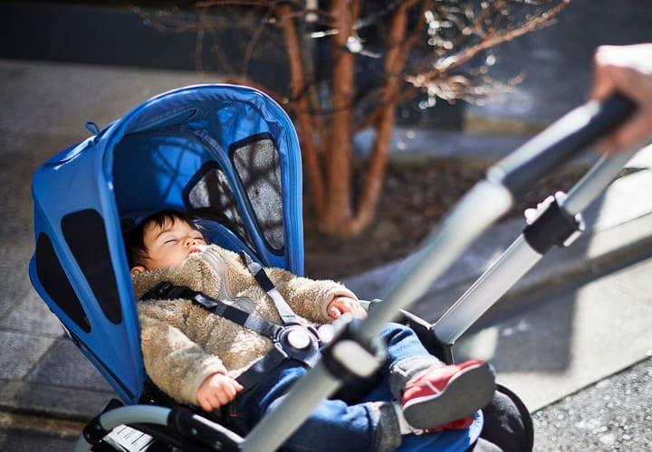 Ombrelles et canopys, retrouvez le meilleur pour bébé chez Bambinou