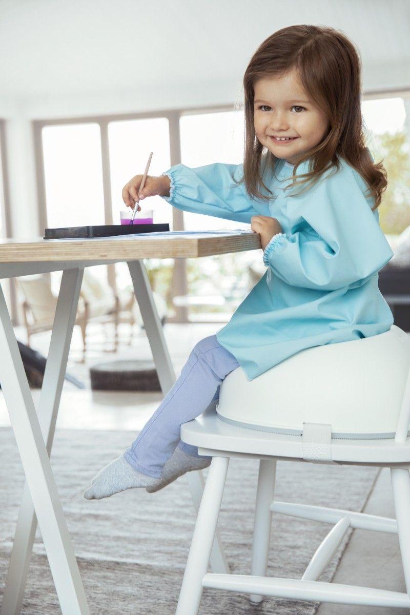 Réhausseur de chaise Blanc enfant 2 Babyjorn Bambinou