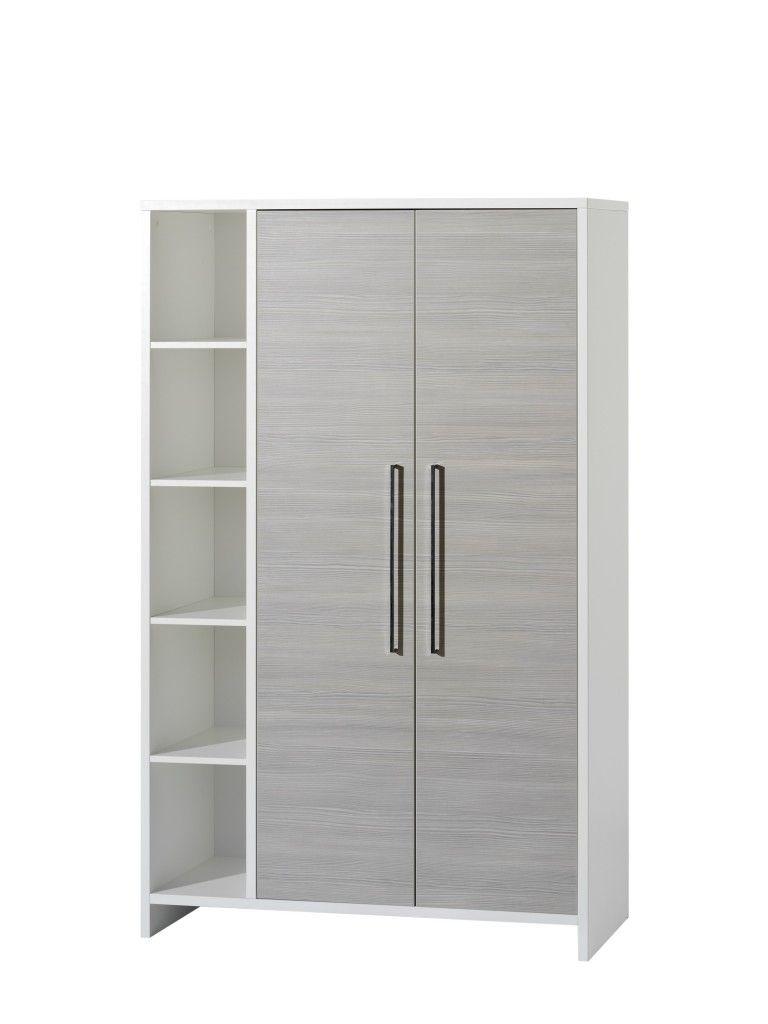armoire 2 portes eco silver Schardt BamBinou