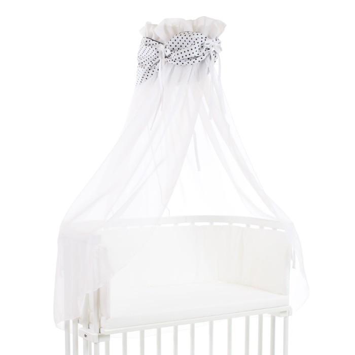 Ciel de lit coton organique pour berceaux Cododo Babybay vue d'ensemble