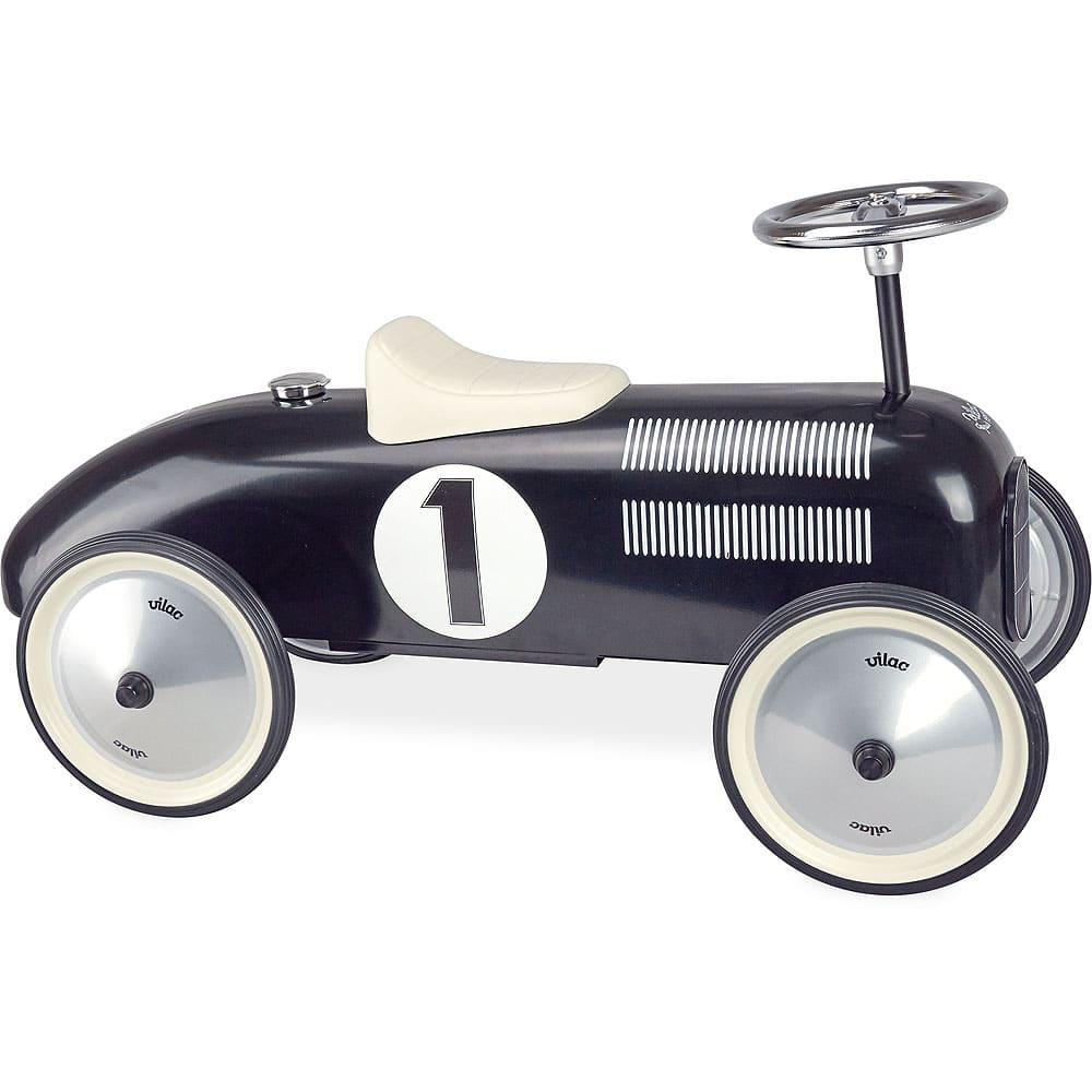 Porteur voiture vintage noir Vilac Bambinou