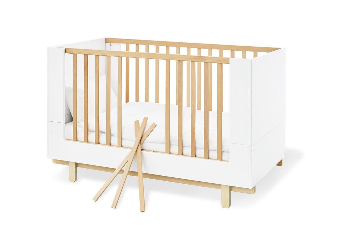 Lit bébé évolutif 70 x 140 Boks Pinolino Bambinou