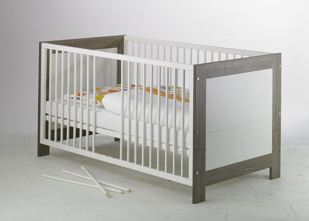 Lit bébé Marlene 70 x 140 cm bois Geuther Bambinou.j
