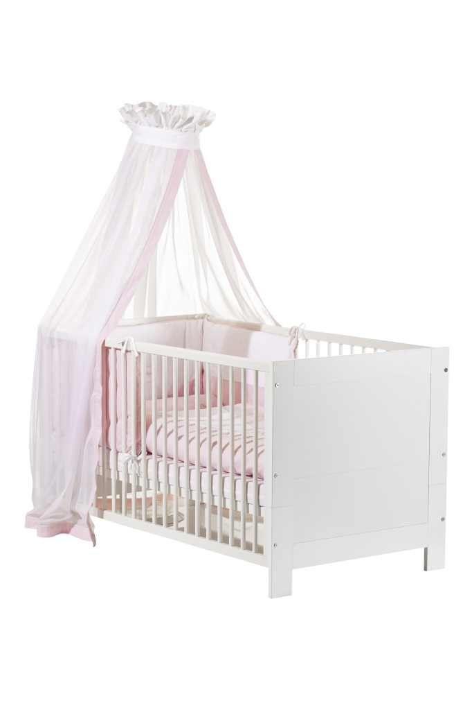 Lit bebe Marlene blanc 70 x 140 cm GEUTHER BamBino