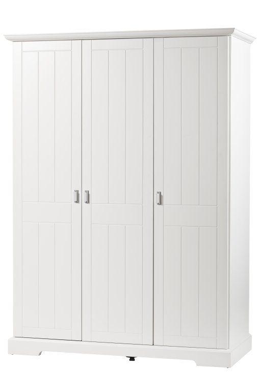 Chambre bébé Cottage blanc : lit commode armoire Geuther BamBinou