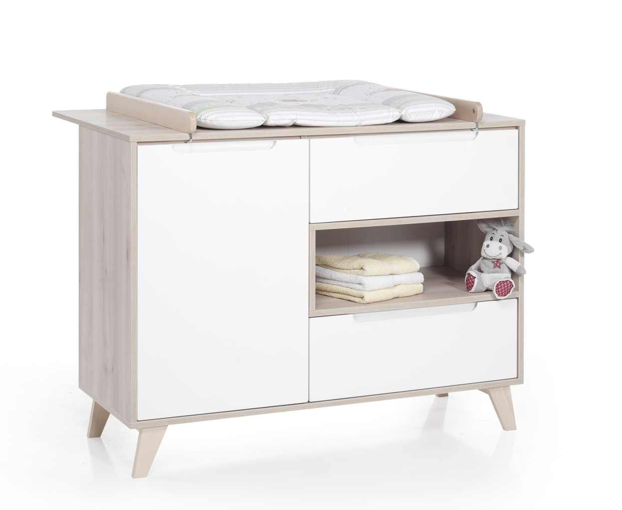 commode a langer Mette naturel blanc Geuther BamBinou