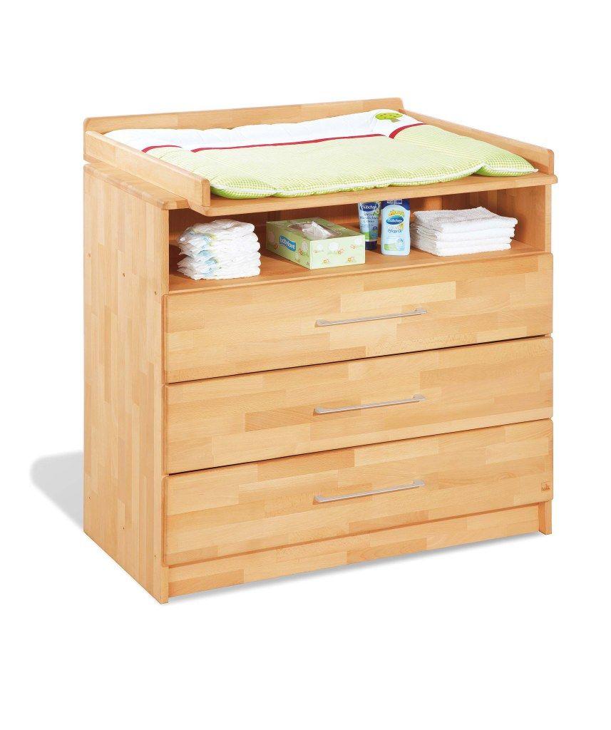 Chambre bébé Natura huilé: Lit, commode, armoire Pinolino Bambinou.com