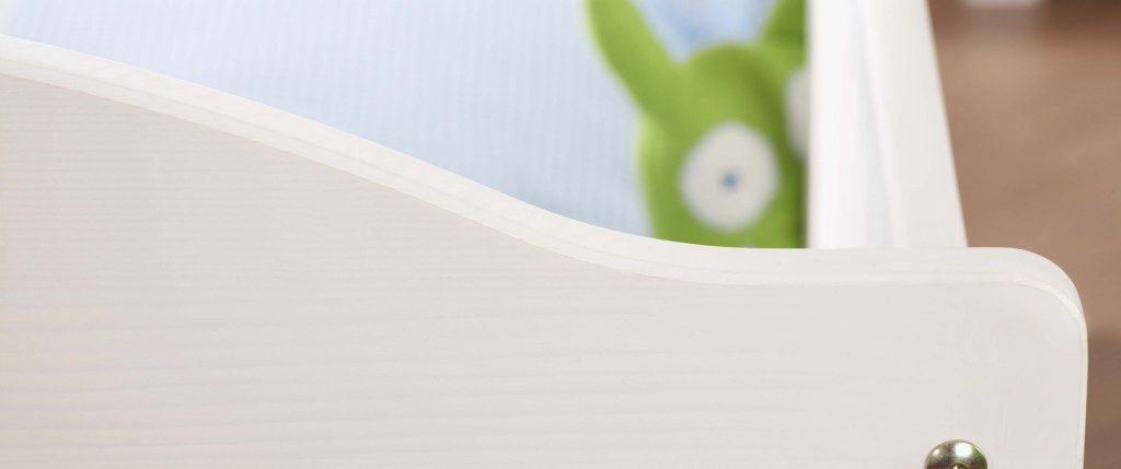 Chambre bébé Nina blanc: Lit, commode, armoire Pinolino Bord