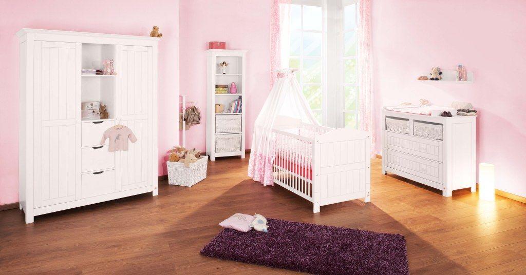 Chambre bébé Nina blanc: Lit, commode, armoire Pinolino Produit