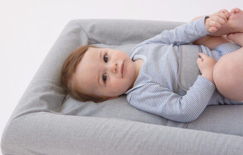 Matelas à langer Mat'Confort Gris Enfant Candide Bambinou