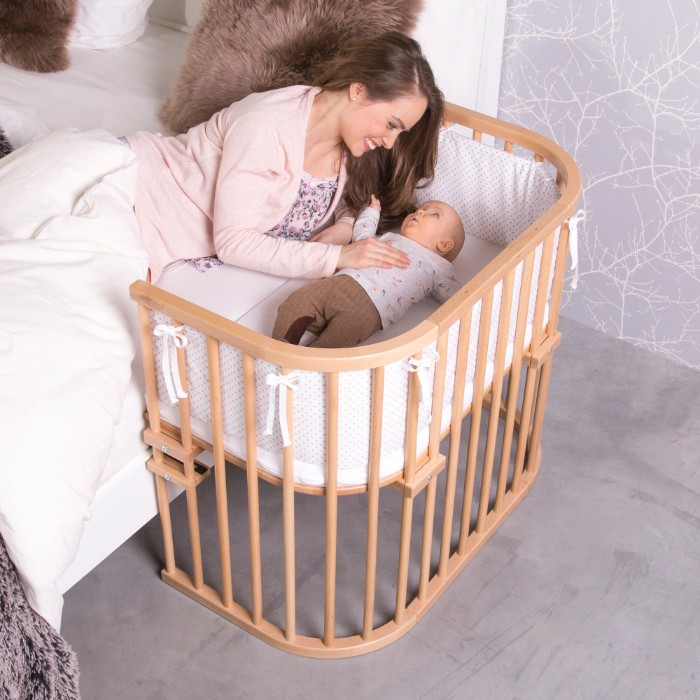 Cododo Babybay Maxi naturel verni en situation