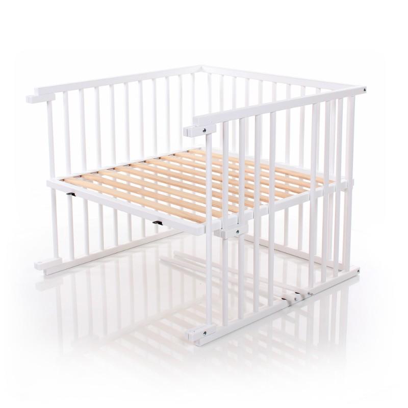 Kit de conversion en lit bébé pour berceau Cododo Original Babybay avec 3 barreaux enlevés
