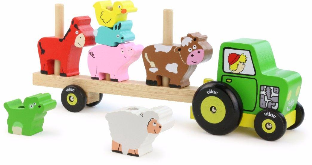 Jouet empilable animaux de la ferme Vilac Bambinou