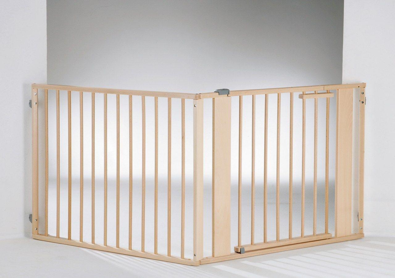 Barrière de sécurité à configurer Set 1 naturel argenté