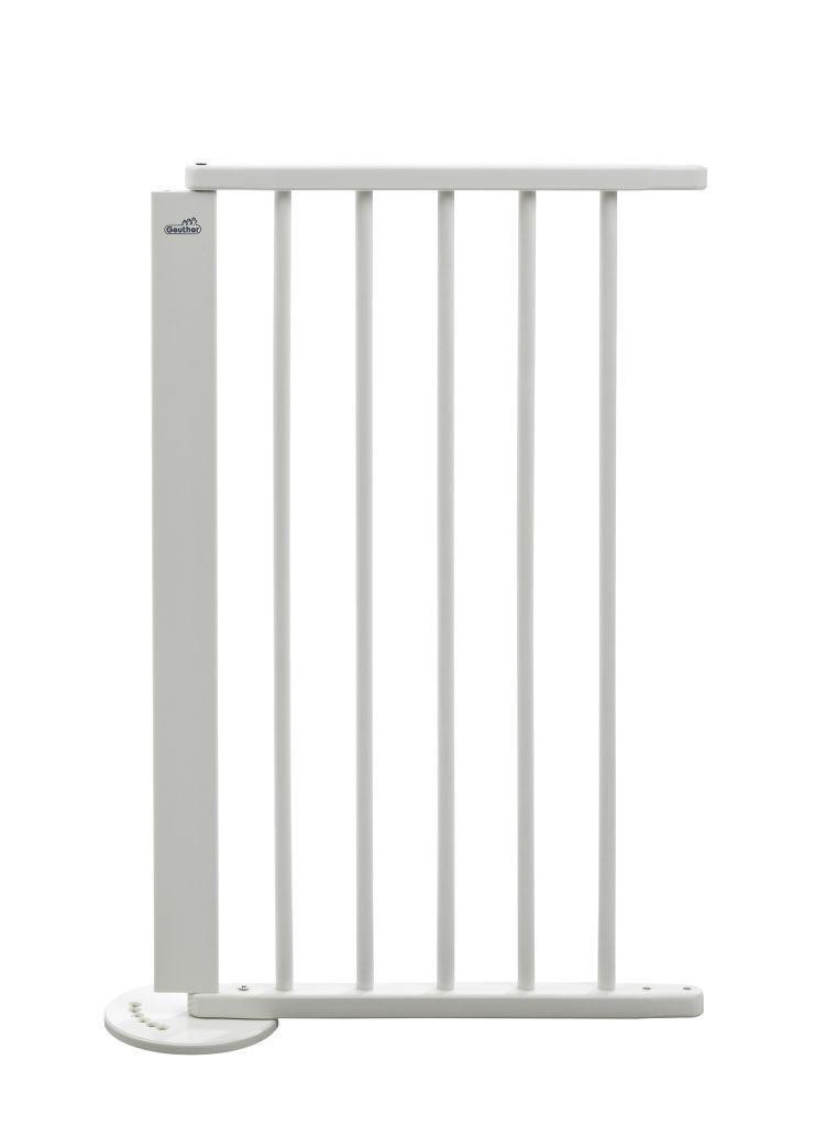 Rallonge pour barrière à configurer en bois blanc 44 cm