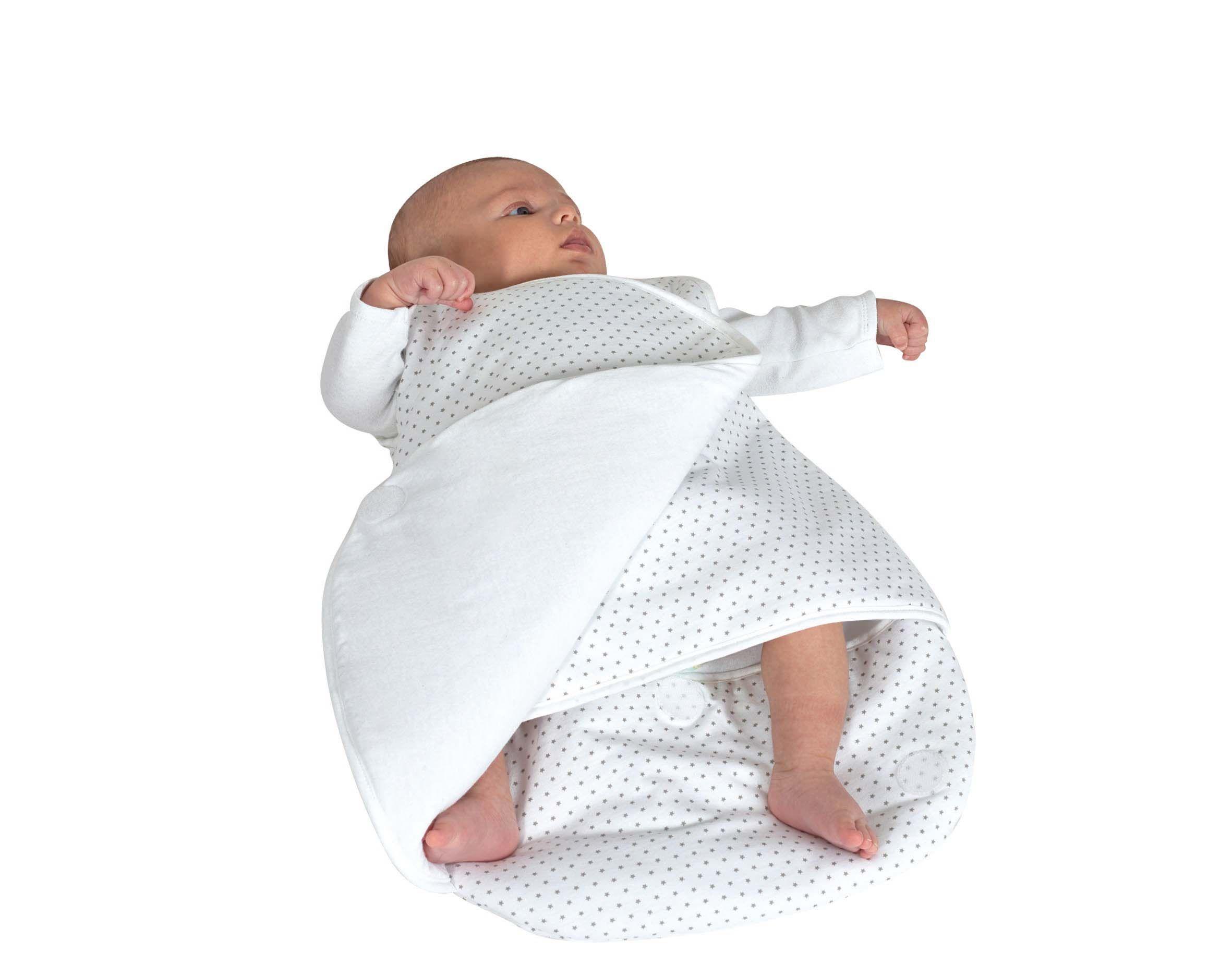 Douillette cache cœur ouatinée naissance à 3 mois etoile Candide Bambinou
