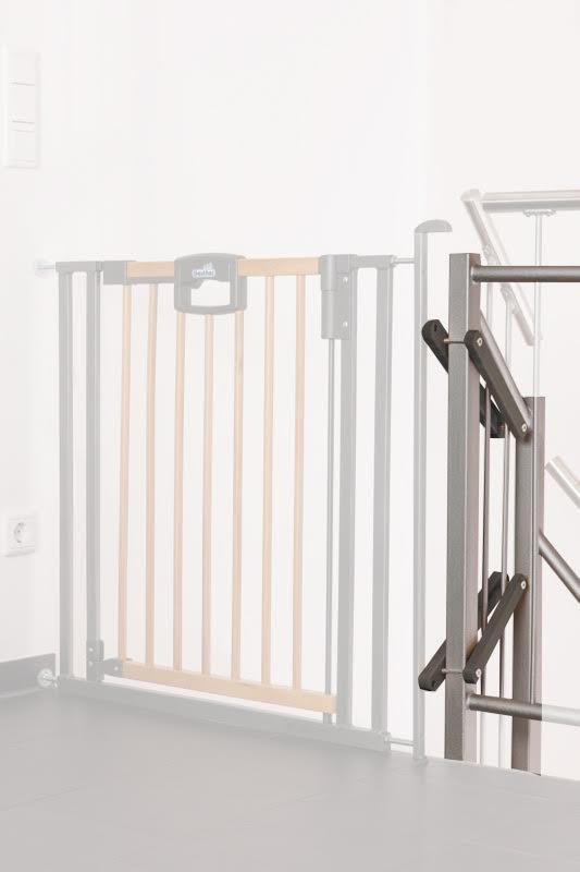 Kit escalier pour barrière de sécurité Easylock Wood plus Geuther Bambinou