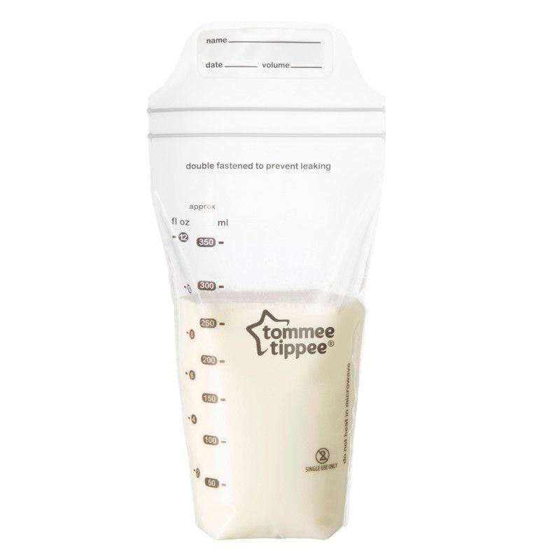 Lot de 36 sachets de conservation de lait maternel TOMMEE TIPPEE BamBinou