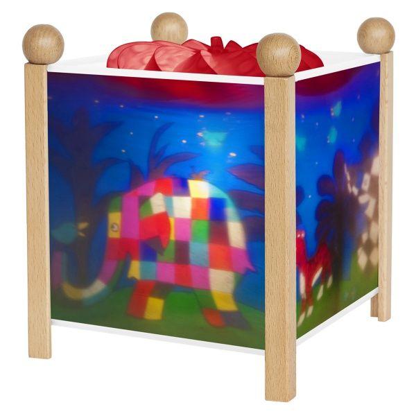Lanterne magique Elmer - trousselier - bambinou