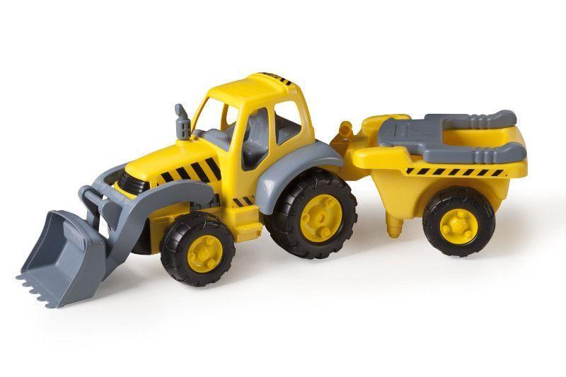 Super Tracteur avec remorque 83 cm MINILAND BamBinou