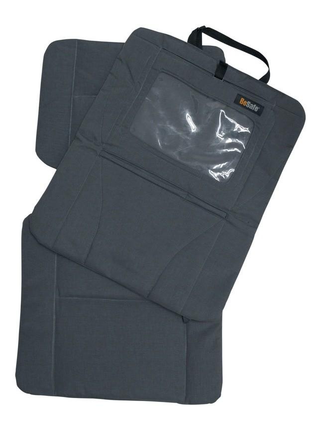 Double protection pour dossier de siège et écran siège auto Besafe
