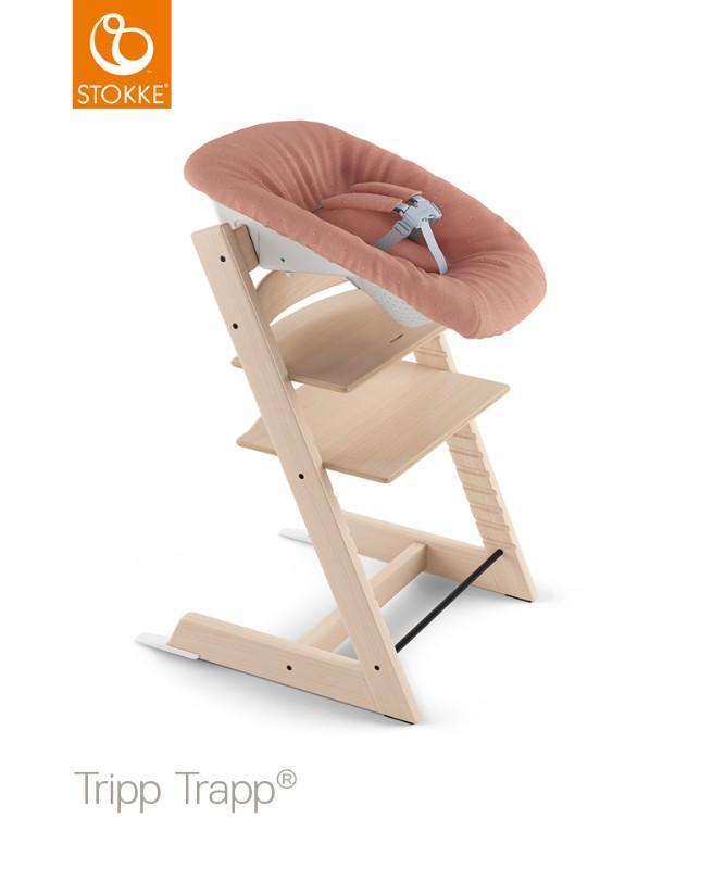 Transat Newborn Set chaise haute Tripp Trapp Corail Stokke