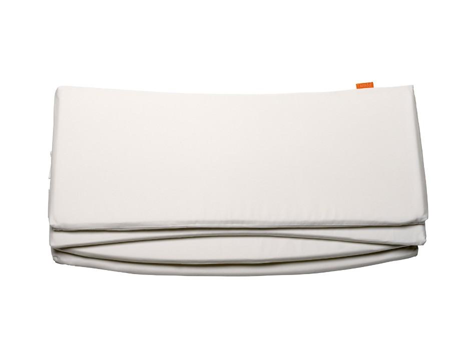 Tour de lit pour lit évolutif LEANDER blanc seul