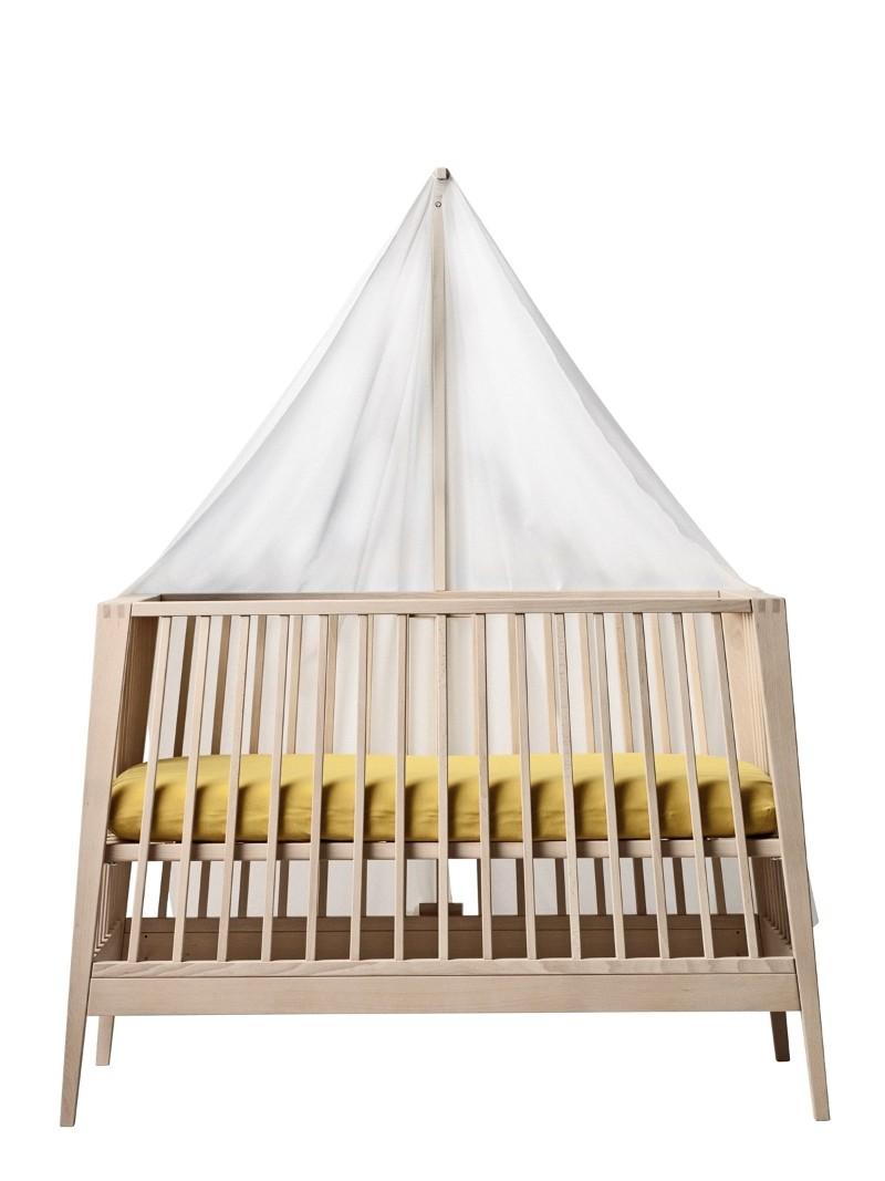 Ciel de lit bébé Linea Leander sur le côté