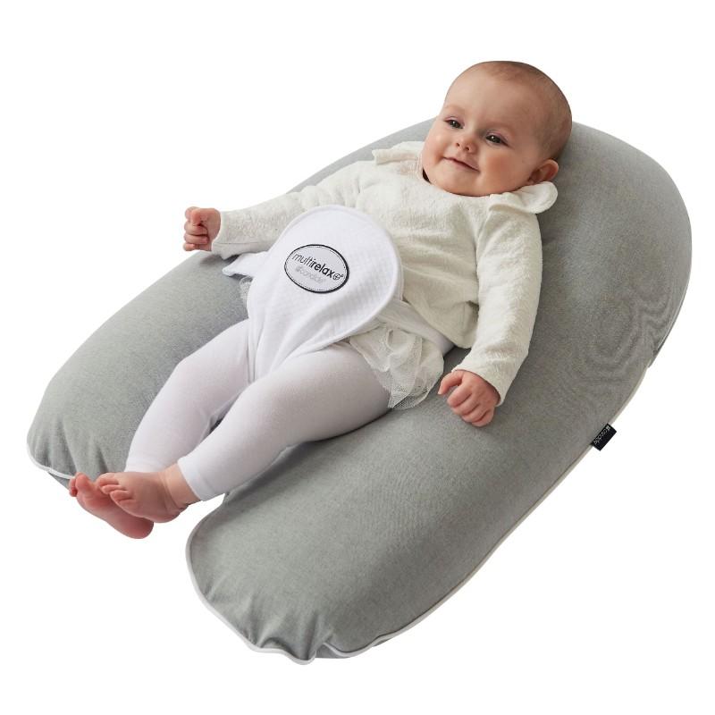 Multirelax Polyester coton chiné Gris Candide bébé