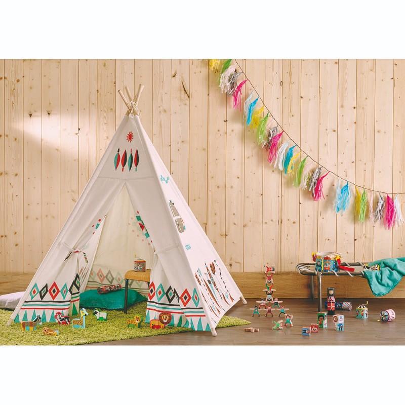 Tipi Cheyenne Ingela P Arrhenius Vilac ambiance