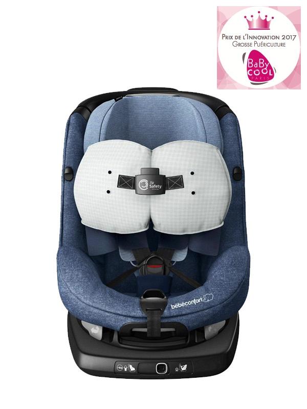 Siège auto AxissFix Air i-Size pivotant groupe 1 Nomad Blue Bébé Confort Bambinou