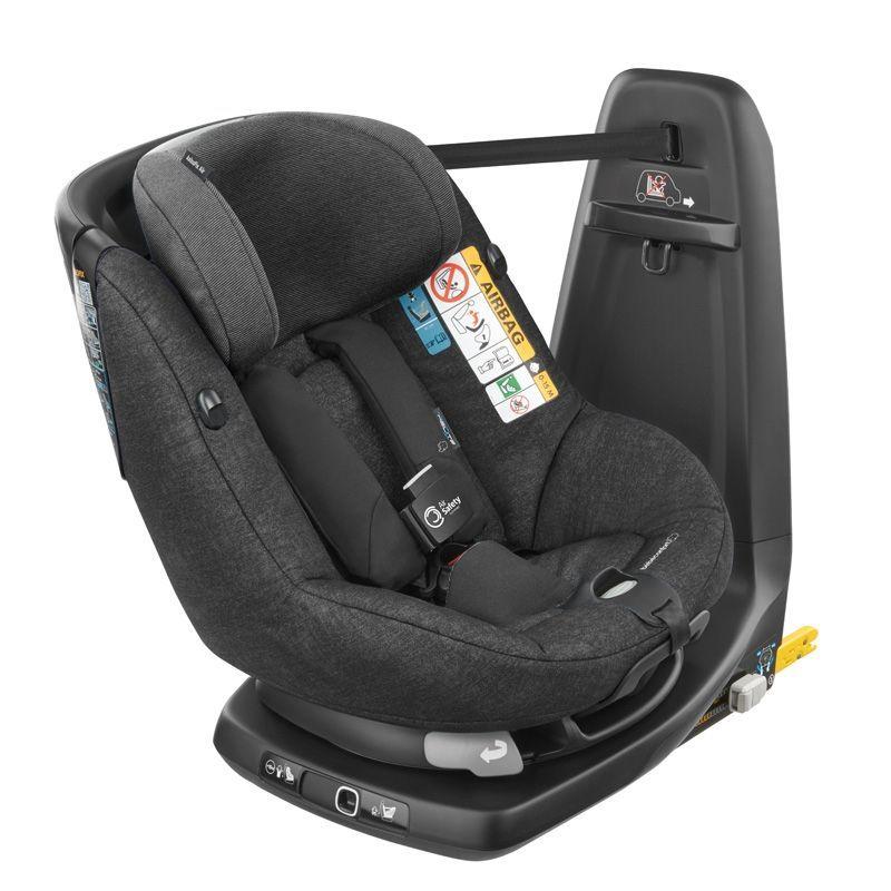 Siège auto AxissFix Air i-Size pivotant groupe 1 Nomad Black Bébé Confort Bambinou