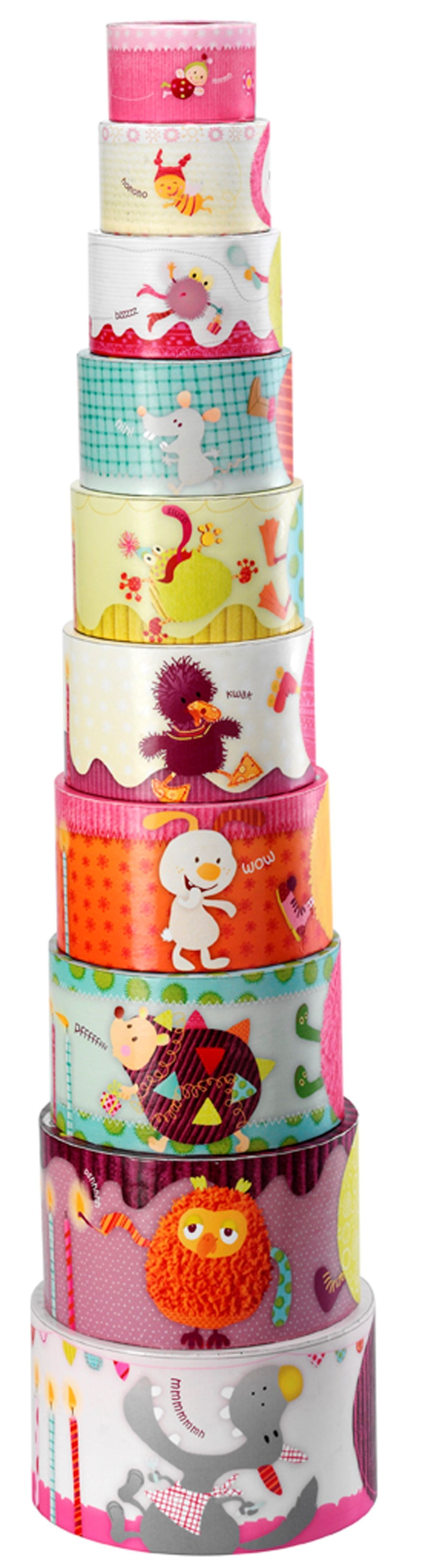 Pyramide Cake Juliette Lilliputiens Bambinou