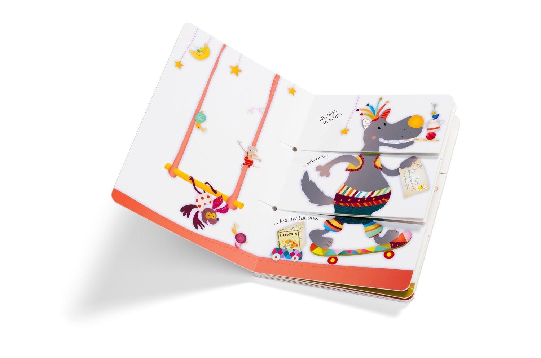 Livre Cirque multi-combinaisons Lilliputiens Bambinou