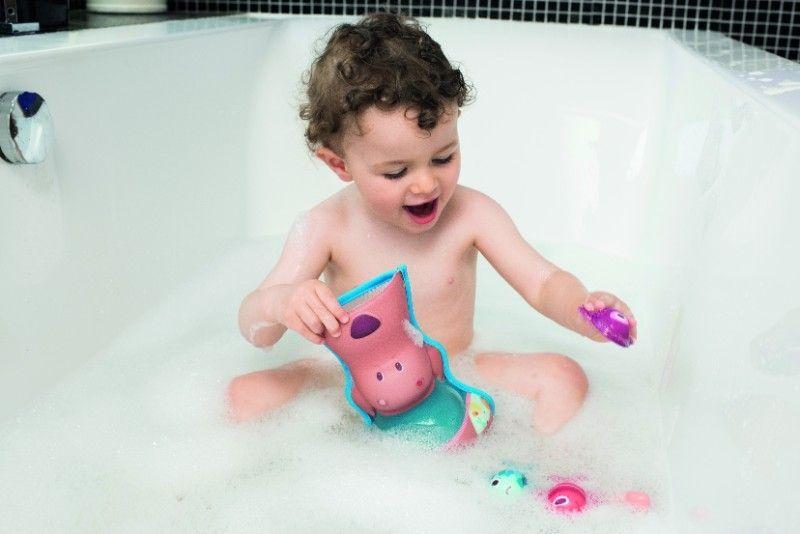 Jouet de bain César mangeur de poissons Lilliputiens Bambinou
