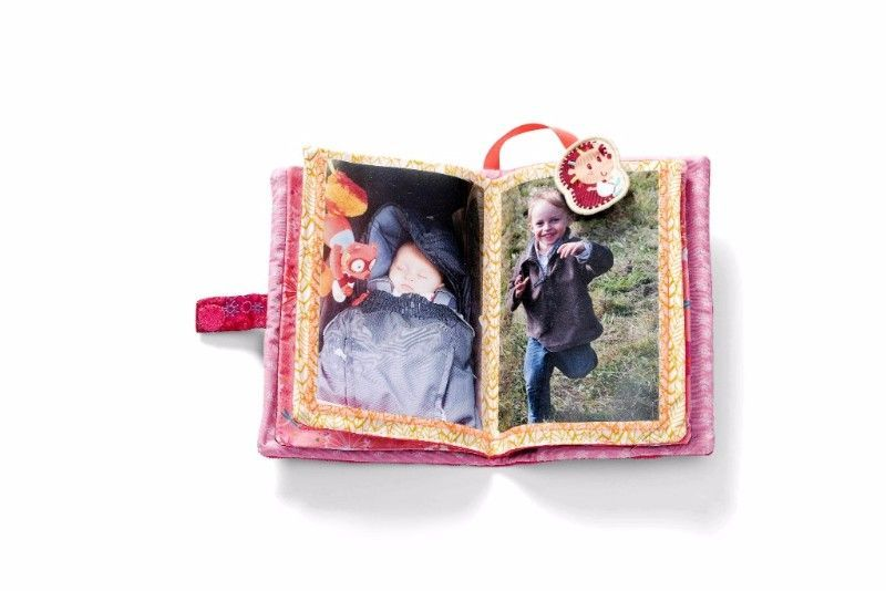 Album photos tissus Alice la Renarde - Lilliputiens - Bambinou