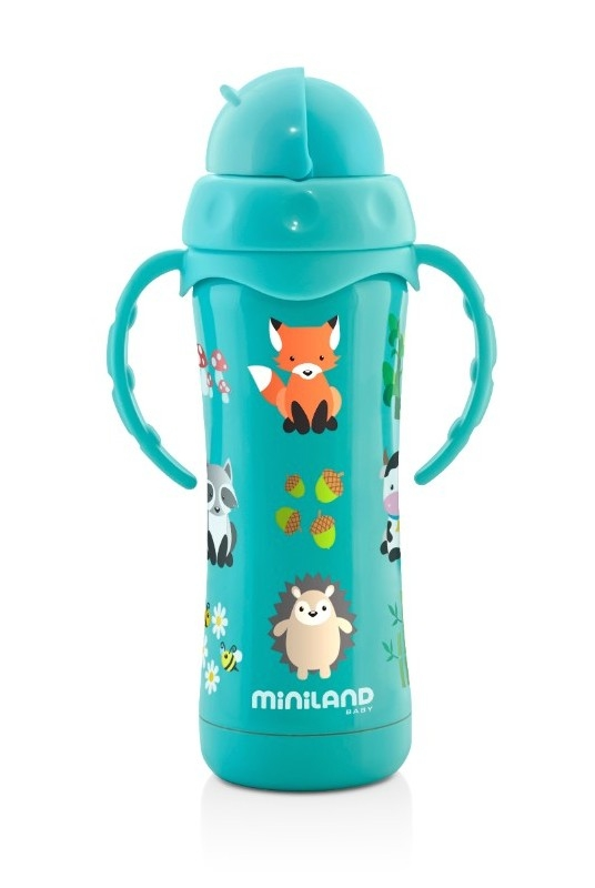 Thermos 240 ml thermokid aqua Miniland Bambinou