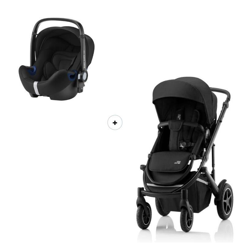 Set poussette Smile III et siège-auto Baby-Safe 2 i-Size Configuration