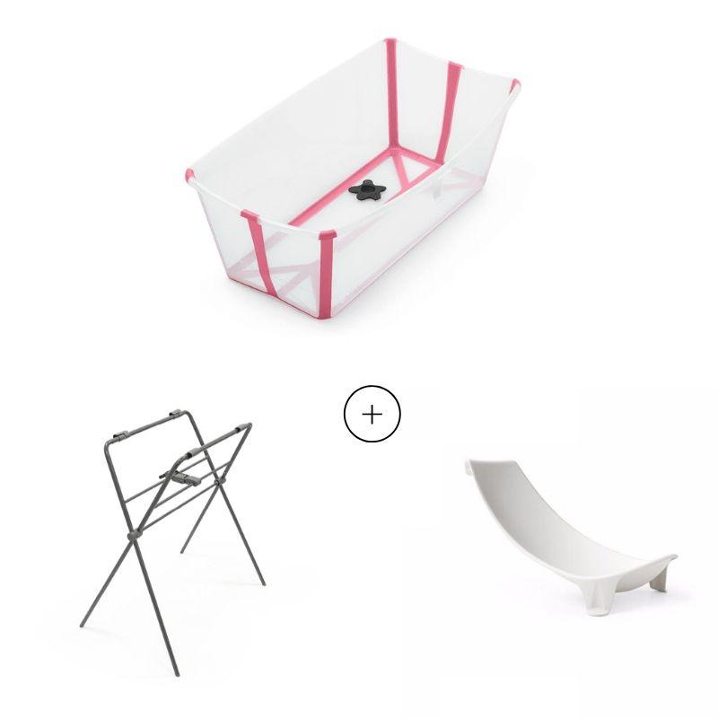 Set Flexi Bath, support baignoire et support nouveau-né Stokke Produit