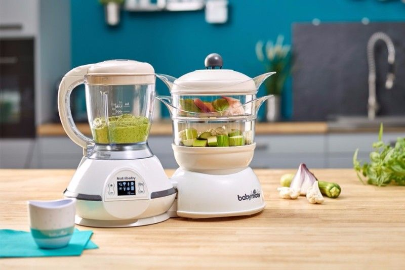 Robot culinaire multifonctions Nutribaby Classic Cream- babymoov - bambinou