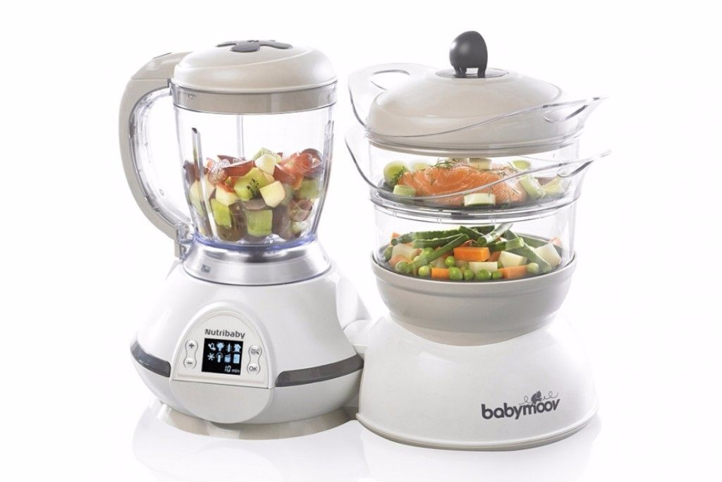 Robot culinaire multifonctions Nutribaby Classic - Babymoov - Bambinou