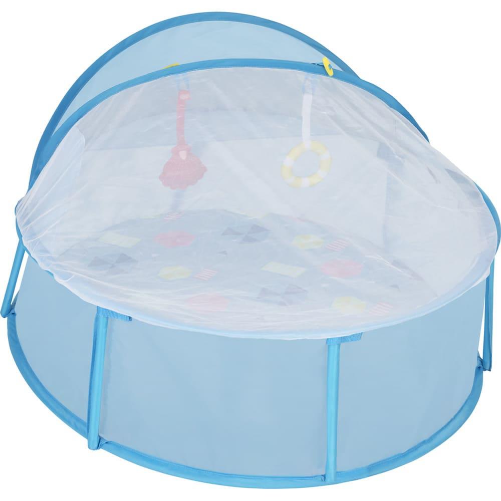 Aire de jeu Babyni 3 en 1 avec parasol Babymoov Moustiquaire