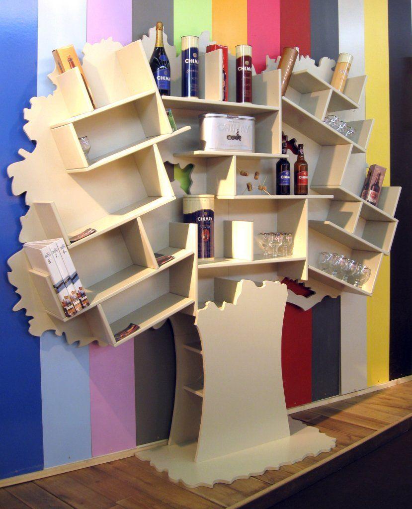 Bibliothèque Tess arbre Mathy By Bols BamBinou