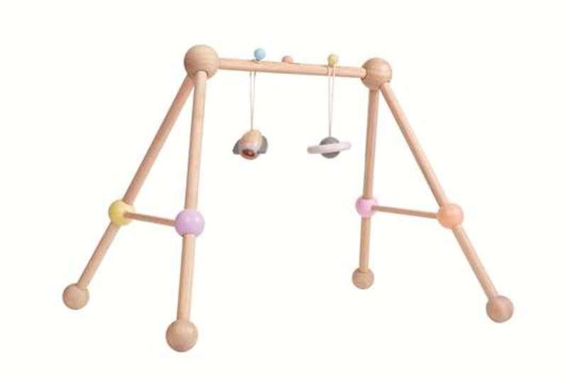 Arche d'activités pastel Plan Toys Profil