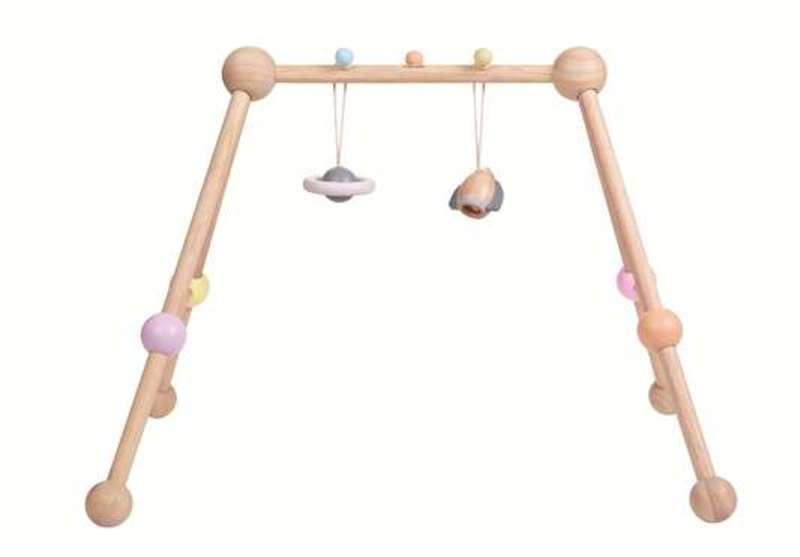 Arche d'activités pastel Plan Toys Detail