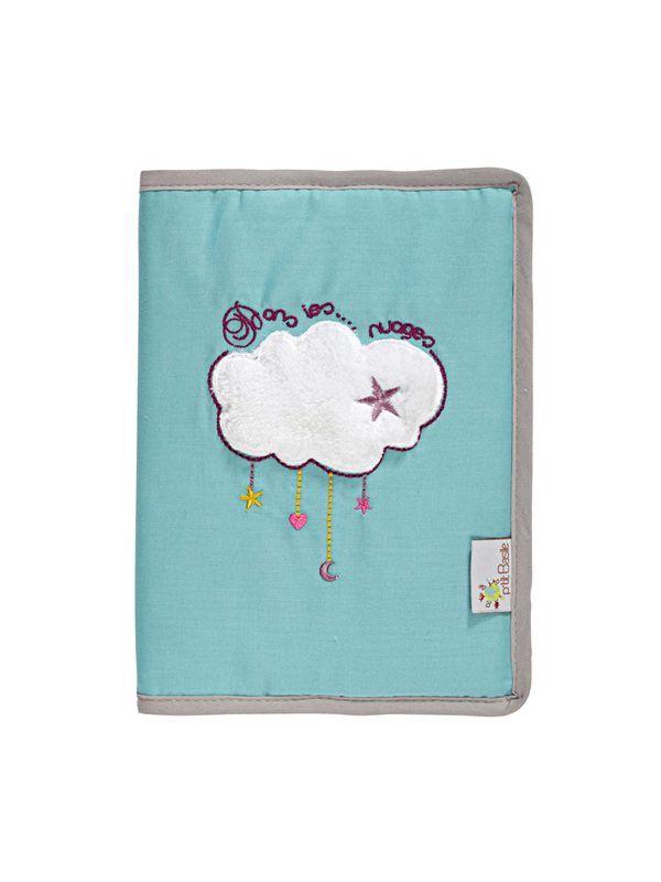 protege carnet de sante dans les nuages ptit basile bambinou