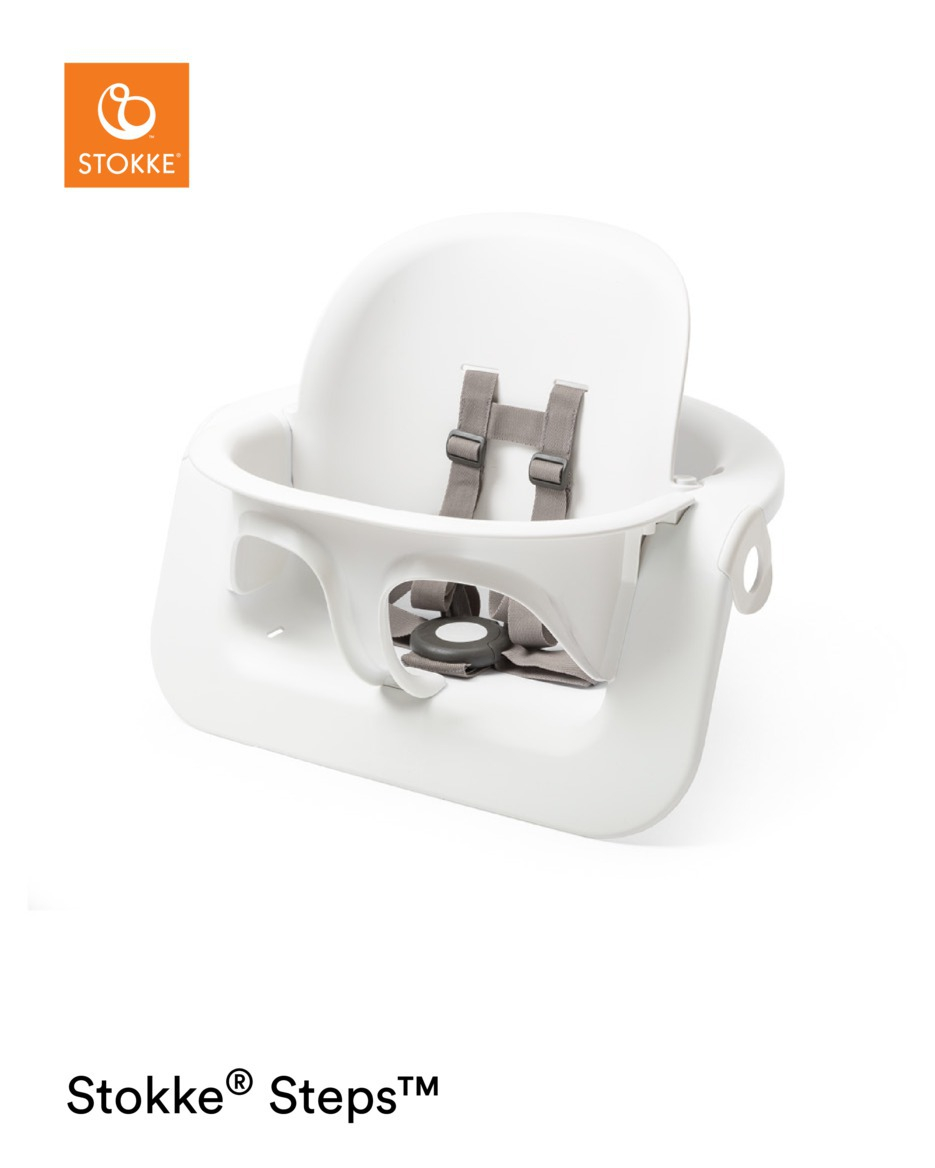 Baby set pour chaise haute Steps blanc Stokke