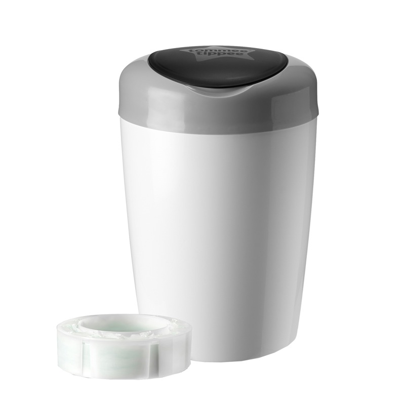 Bac poubelle sangenic simplee gris tommee tippee bambinou