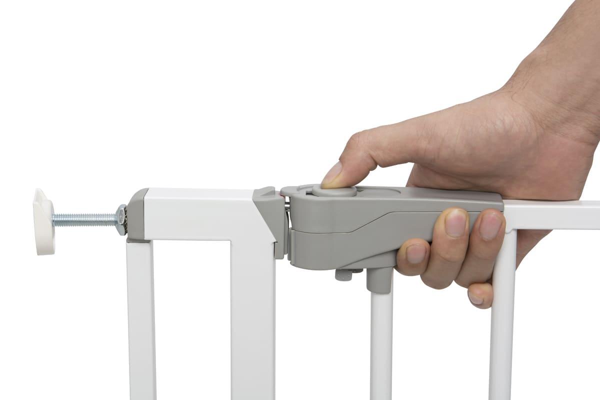 Barrière de sécurité Easy Close 73/81,5 cm Blanc Geuther 5
