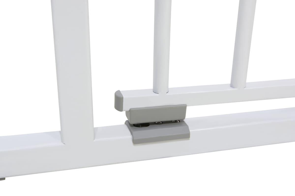 Barrière de sécurité Easy Close 73/81,5 cm Blanc Geuther 6